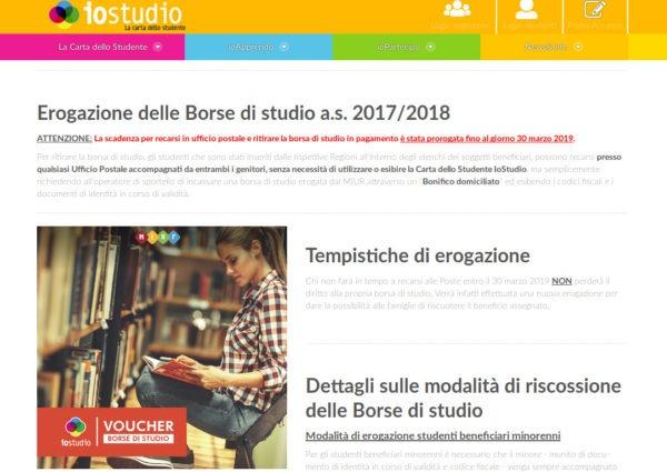 borse di studio a.s. 2017-2018