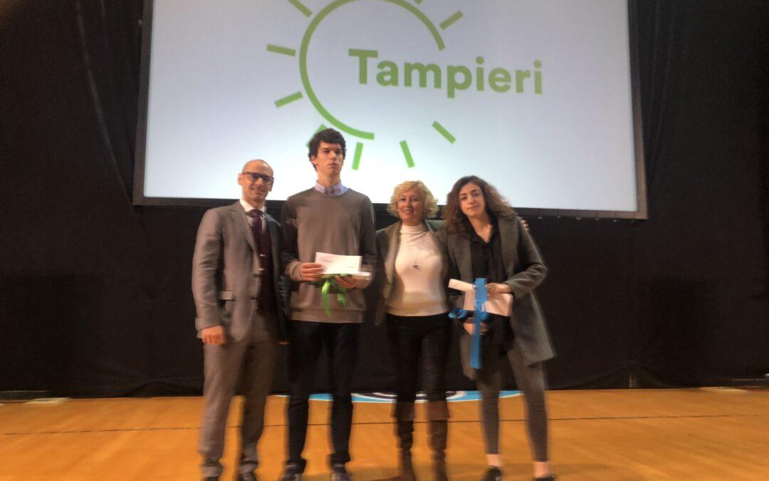 """Consegnate sabato scorso le borse di studio del Gruppo Tampieri: tra i premiati anche due studenti del """"Persolino-Strocchi"""""""